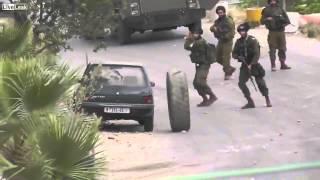 İsrail askerlerini rezil eden kamyon