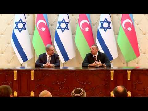 Statements by PM Netanyahu and President of Azerbaijan Ilham