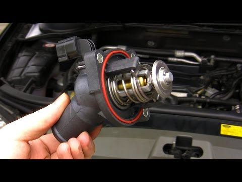 How to: Ford Mondeo & Focus (Duratec HE) thermostat replace