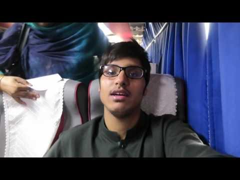 Vlog 10: Daewoo Express Journey from Rawalpindi - Peshawar