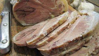 Рулька по-деревенски | Как приготовить вкусный мясной рулет | Golonka