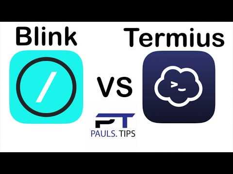 IPadOS Terminal App Overview: Termius Vs Blink Shell - Generating SSH Keys