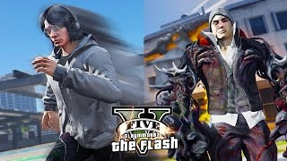 GTA 5 PC - Quicksilver VS The Prototype and Dragons ! (Ultimate Flash Mod Gameplay)