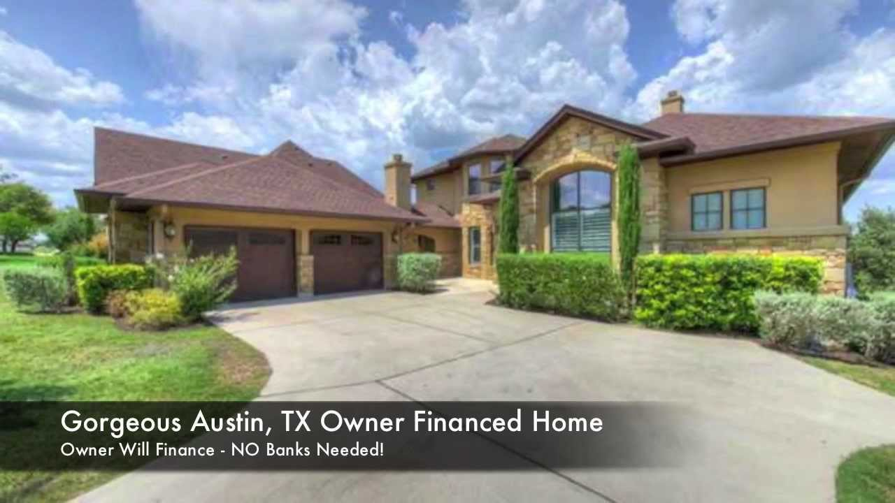 Austin Owner Finance Home For Sale in Lakeway ISD!