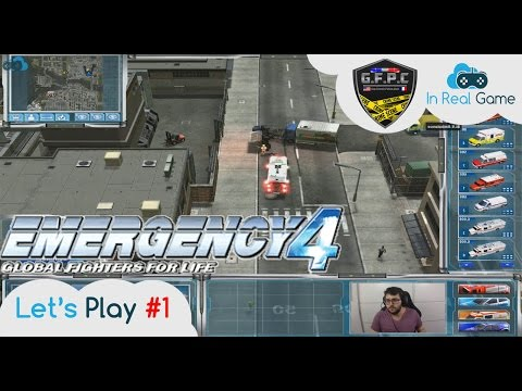 EMERGENCY 4 Multijoueurs [FR] ● Los Angeles Mod ● Let's Play #1 ● Avec La Team GFPC 75N