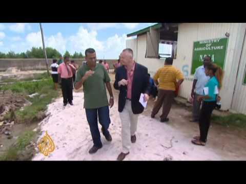 Guyana struggles against rising seas