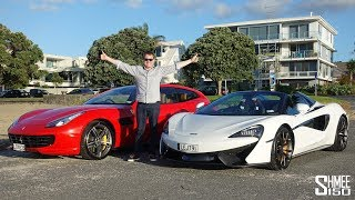 The BEST Supercar Welcome to New Zealand! | VLOG