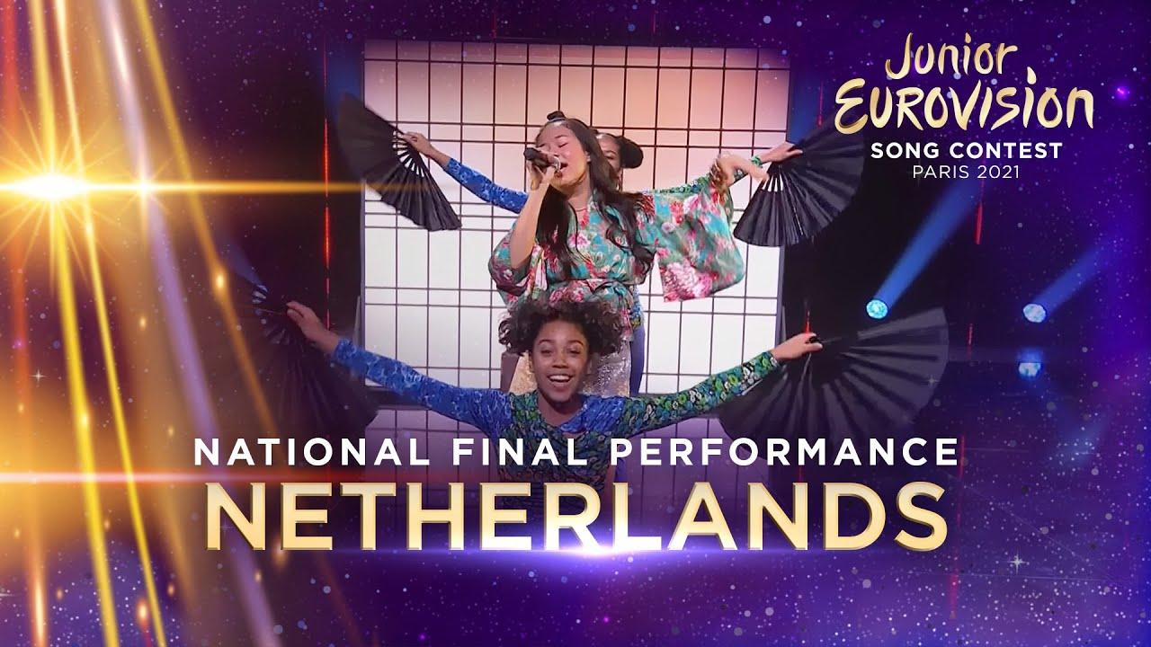 Ayana - Mata Sugu Aō Ne - Netherlands 🇳🇱 - National Final Performance - Junior Eurovision 2021
