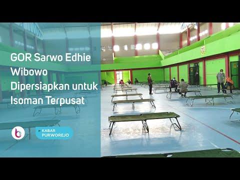 GOR Sarwo Edhie Wibowo Dipersiapkan Untuk Isoman Terpusat