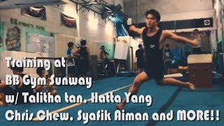 Tricking Session at BB Gym Sunway