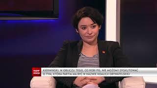 Debata Grzegorza Łaguny: Anna-Maria Żukowska, Marcin Kierwiński o wejściu SLD do KO