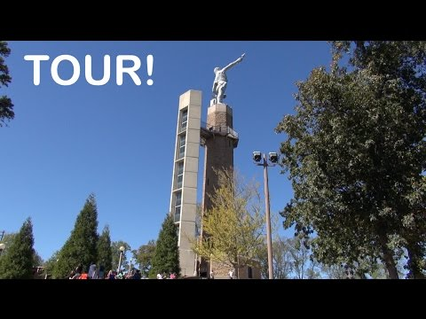 elevaTOUR: Tour of the Vulcan Statue Birmingham AL with view, elevator, and steps