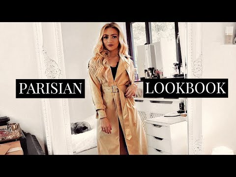 PARISIAN STYLE OUTFITS / FRENCH CHIC LOOKBOOK