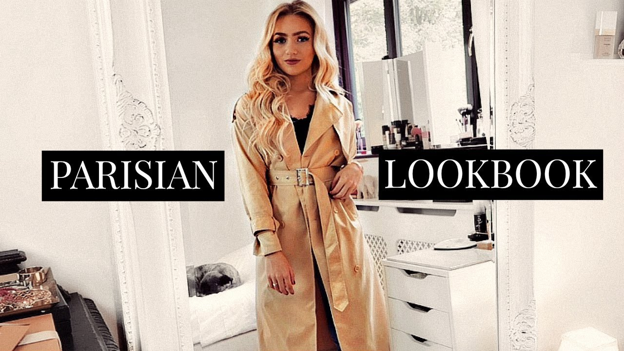 [VIDEO] - PARISIAN STYLE OUTFITS / FRENCH CHIC LOOKBOOK 1