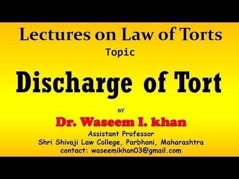 Discharge of Tort | Modes of Discharge of Tort