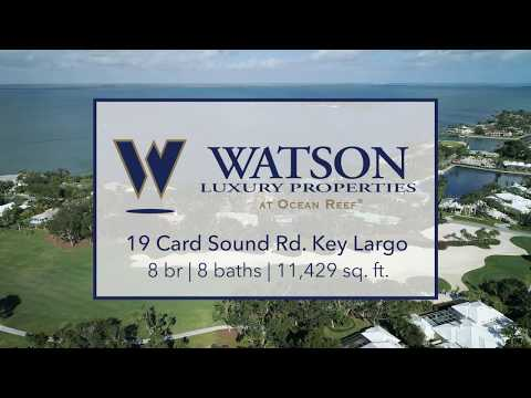 19 Card Sound Rd. Key Largo, FL (Kathie Lee Gifford Home In Ocean Reef) | REELESTATES.COM