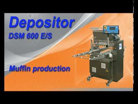 KRUMBEIN DSM 600 E/S Filling of Muffin Cups