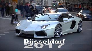 Düsseldorf Supercar Spotting 2017