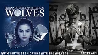 WOLVES/WHAT DO YOU MEAN - Selena Gomez, Justin Bieber, Marshmello (Mashup)