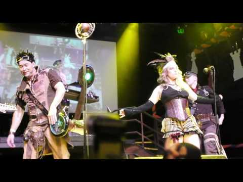 Abney Park (Steampunk), Until the Day You Die, Live Concert, San Francisco, Burton's Wonderland Ball