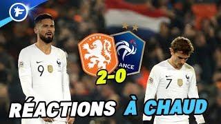 Les Bleus tentent d'expliquer la défaite contre les Pays-Bas