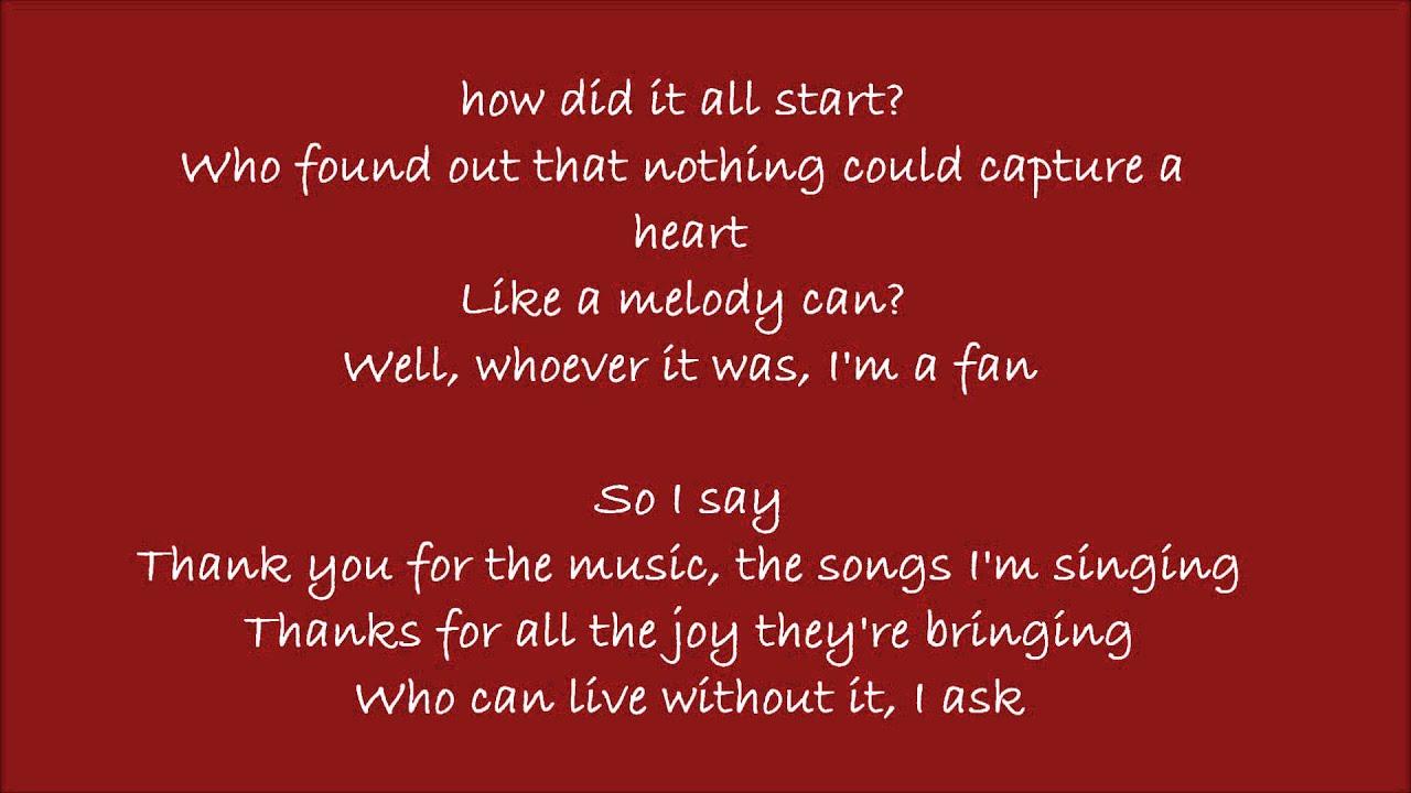 lyrics thank mia mamma