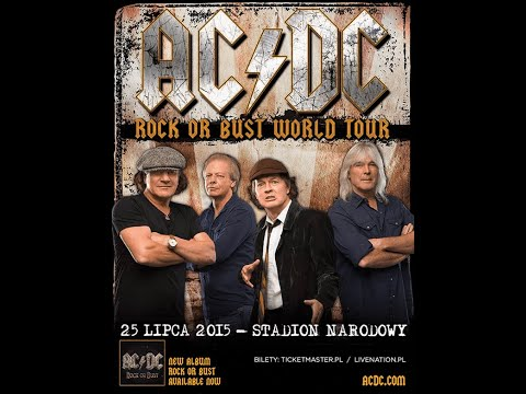 AC/DC. Rock or Bust. Live in Warsaw