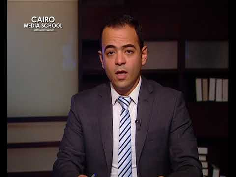 "Mohamed Salama - News Presenting April Workshop "" Morouj Ibrahim """