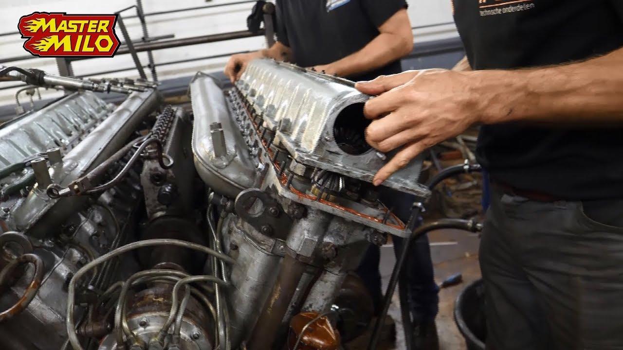 Motor z tanku T54: 38,8 l V12 beštia štartuje po 28 rokoch!