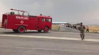 crash of the US-Bangla Airlines flight BS211 in Kathmandu, Nepal
