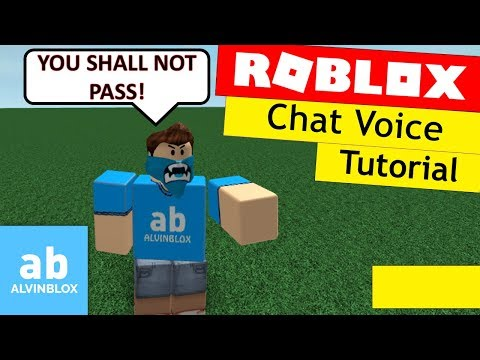Roblox Chat Voice Tutorial - Make Your Own Voice Chat!