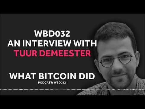 Tuur Demeester on the Looming Debt Crisis and Central Banks for Bitcoin