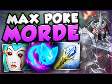 WHO CAN STOP THIS NEW MAX POKE AERY MORDE?? NEW MORDEKAISER SEASON 8 GAMEPLAY! - League of Legends