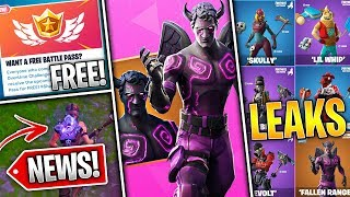 Fortnite News | Free Battlepass, VBucks Challenge Pack, Purple Ghost Portal, Earthquakes & More!