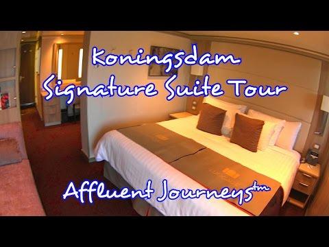 Koningsdam Signature Suite Tour In 1080p Youtube