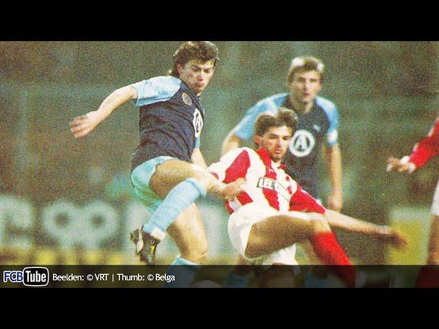 1987-1988 - UEFA-Cup - 04. 16de Finale - Club Brugge - Rode Ster Belgrado 4-0