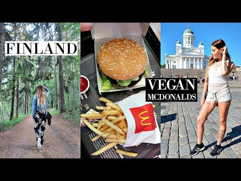 Tasting Vegan Mcdonalds in Finland! // Helsinki Travel Vlog