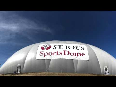 Schoolcraft College St. Joe's Sports Dome Ribbon Cutting March 2017
