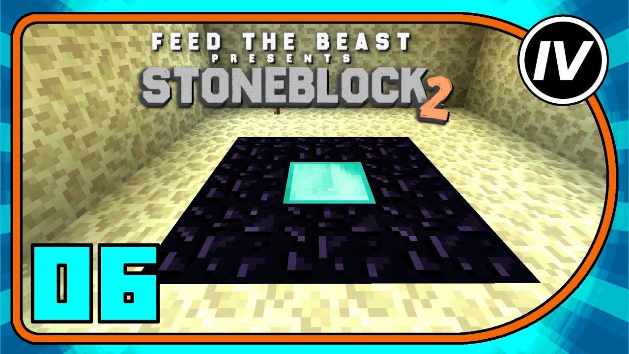 FTB Stoneblock 2 - Ep 6 - Reactor & Ender Chicken