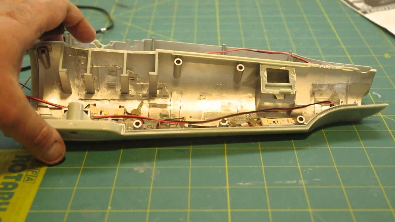 Polar Lights 1/350 Classic Star Trek Enterprise model project Part 4 - YouTube & Polar Lights 1/350 Classic Star Trek Enterprise model project Part 4 ...