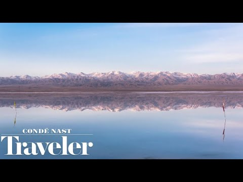 Chaka Salt Lake: Where the Water Meets the Sky I Condé Nast Traveler