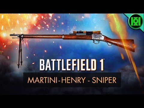 Battlefield 1: Martini Henry Sniper Review (Weapon Guide) | BF1 Martini Henry Scope Gameplay