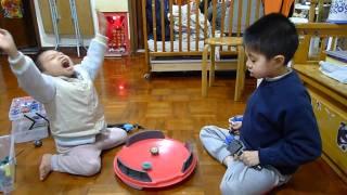 BB-P01爆炎火神 vs BB-93電光獨角...必殺技「神秘火地帶」 (2011-03-24) thumbnail