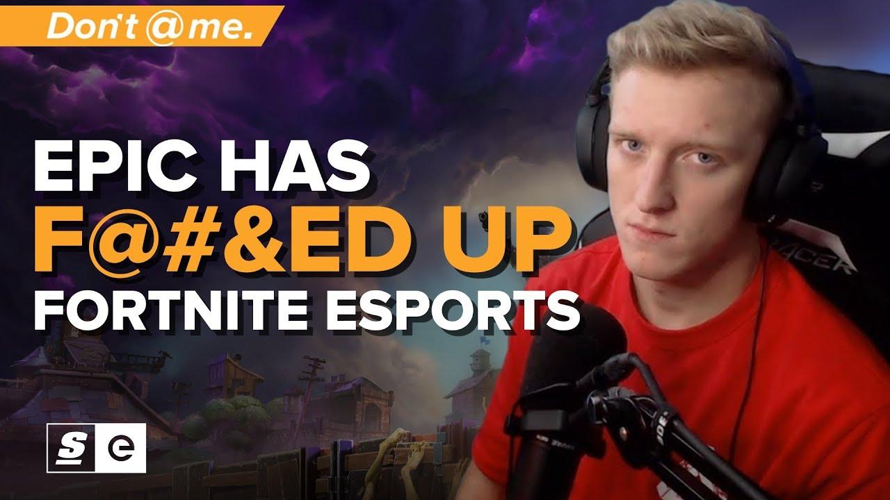 Epic Games has F@&!ed Up Fortnite Esports Beyond Repair