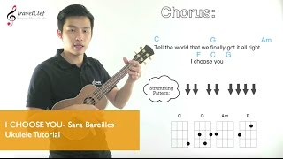 "How to play ""I Choose You"" on the ukulele"
