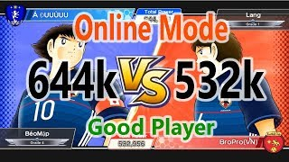 Captain Tsubasa: Dream Team - Power 644k vs 532k - Perfect Rivaul
