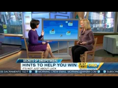 Secrets of Sweepstakes - Good Morning America