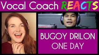 """Vocal Coach reacts to Bugoy Drilon covers """"One Day"""" (Matisyahu) LIVE on Wish 107.5 Bus"""
