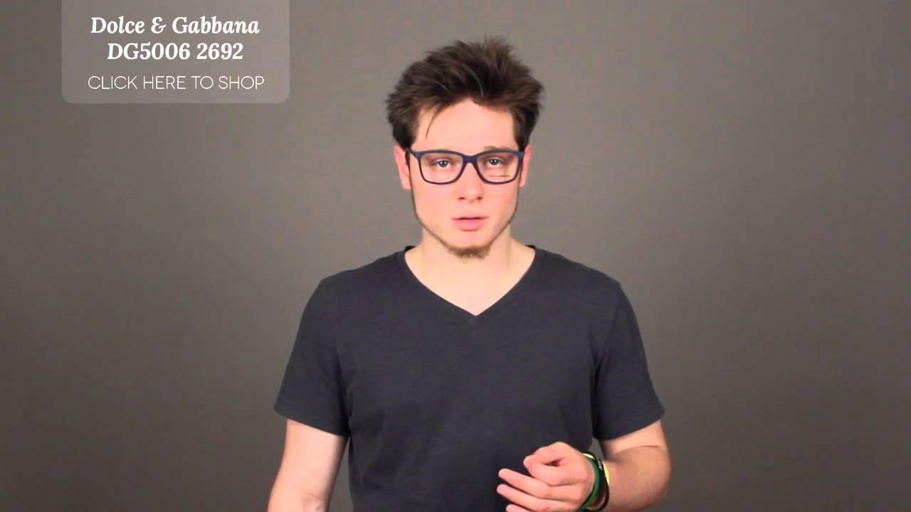 f05b2395d6d9 Dolce   Gabbana Glasses Review - Dolce   Gabbana DG5006 2692 Glasses ...