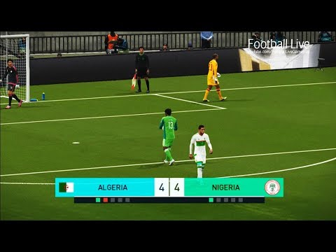 PES 2018 | ALGERIA vs NIGERIA | Penalty Shootout | Gameplay PC